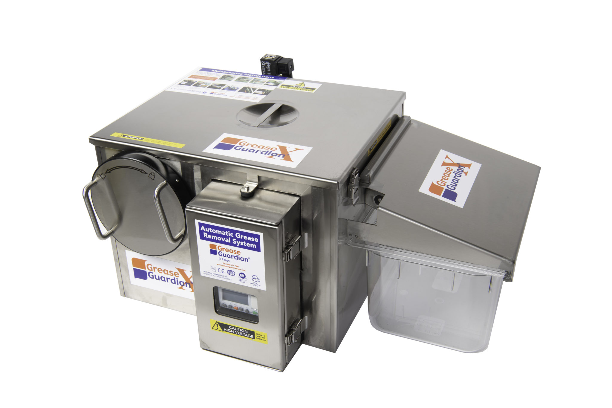 Grease Guardian automatic grease removal unit