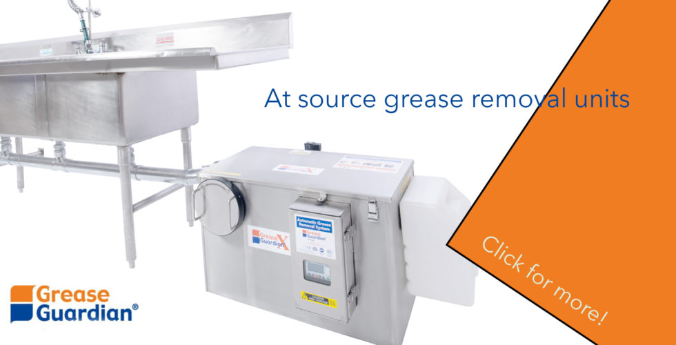 Grease removal unit by Grease GUardian