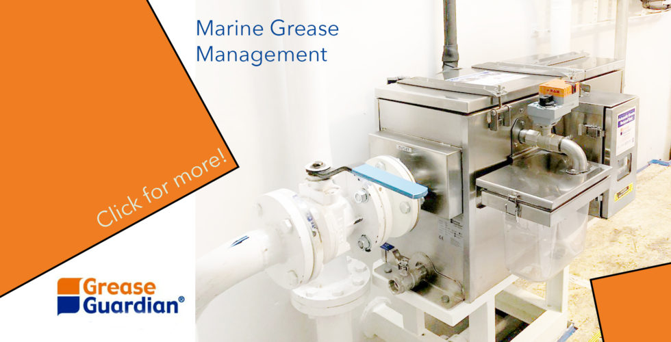 Grease Separator for boats
